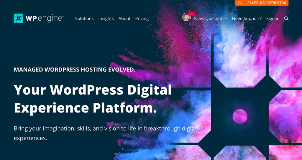 WPEngine Managed WordPress Hosting